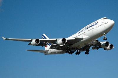 Air France permite realizar llamadas en pleno vuelo.